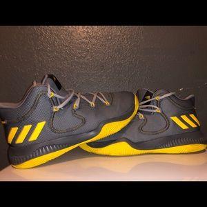 Adidas basketball shoes (worn once)